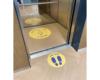 vloerstickers-lift