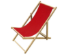 strandstoelen-rood